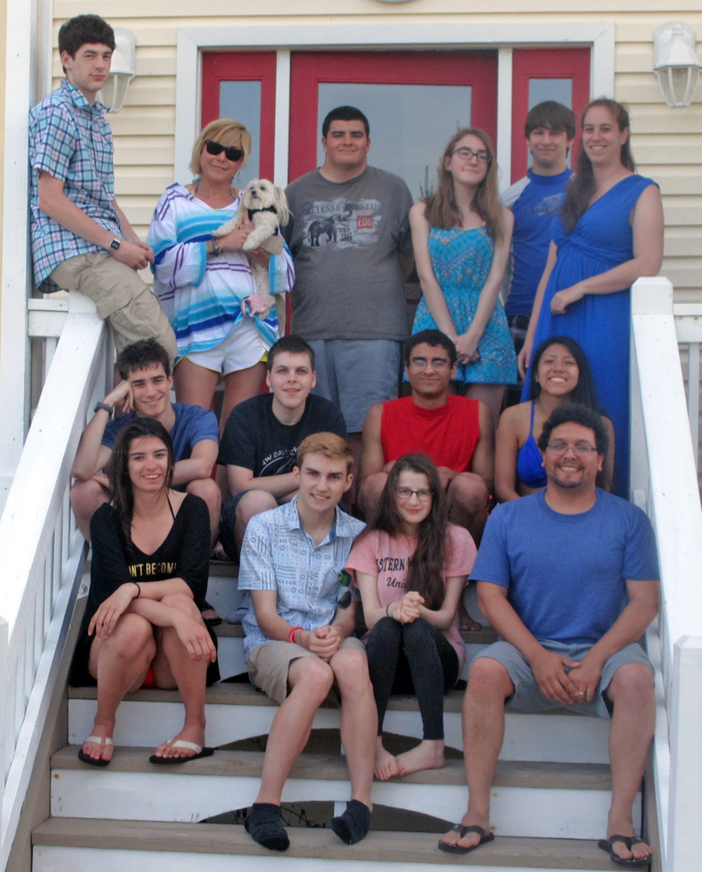 Seniors Beach Trip in Corolla, NC - May 2015