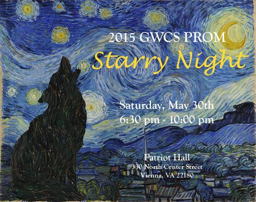 A Starry Night <br> ~ GWCS Prom 2015 — GW Community School