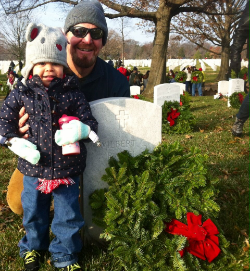 Mr. F. & daughter Anna - December 2014