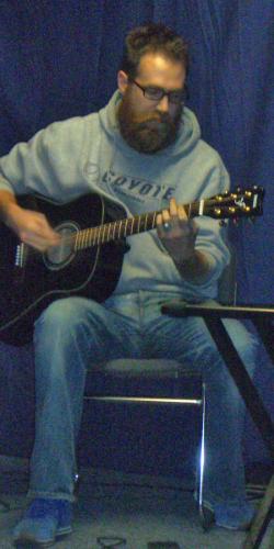 Mr. AB at Coffee House circa 2007