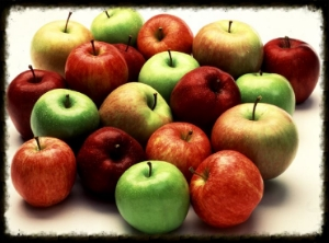 Click on apples to sign-up for a week.
