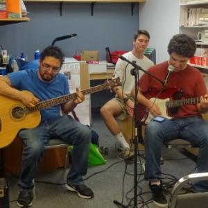 Mr. P, Chris & Nick jamming at 2016 Event Night