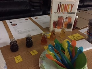 Honey Tasting & Identifying