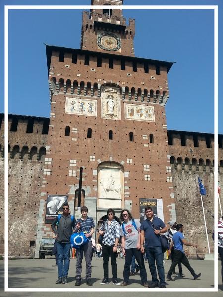 Sforza Castle, Milan, Italy