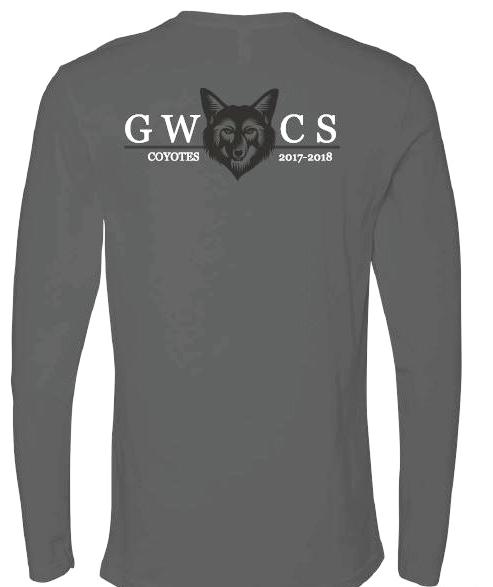 Copy of Long Sleeved T-Shirt (back)