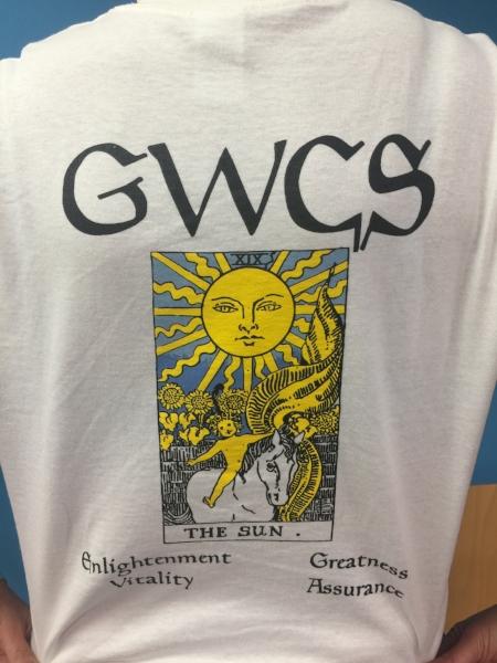 Copy of Short Sleeved T-Shirt (back)