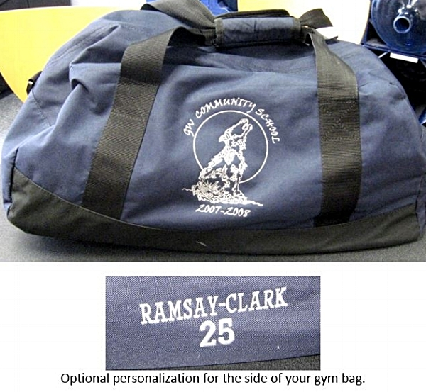 Copy of Personalized Gym Bag