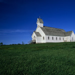 Exterior of Rural Church