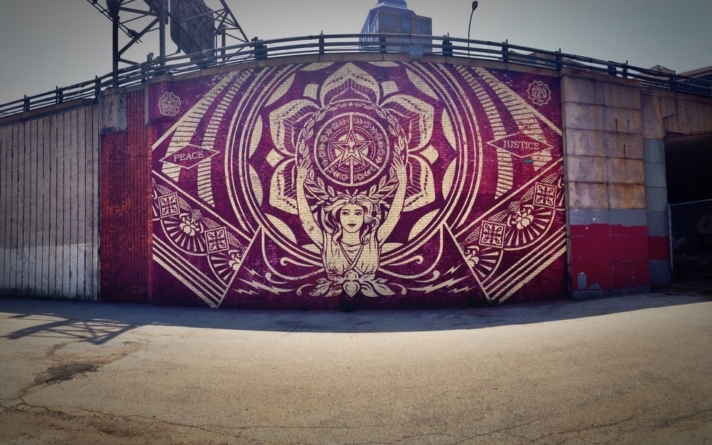 Obey Giant Graffiti (Brooklyn, NYC)