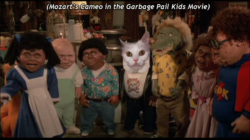 Mozart's Cameo in the  Garbage Pail Kids Movie )