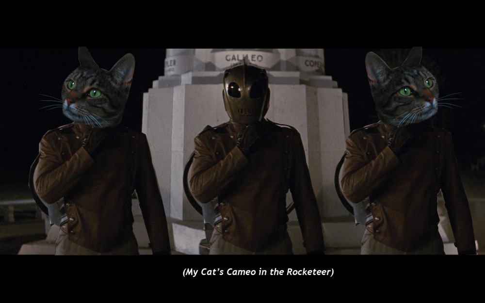 My Cat's Cameo in  The Rocketeer