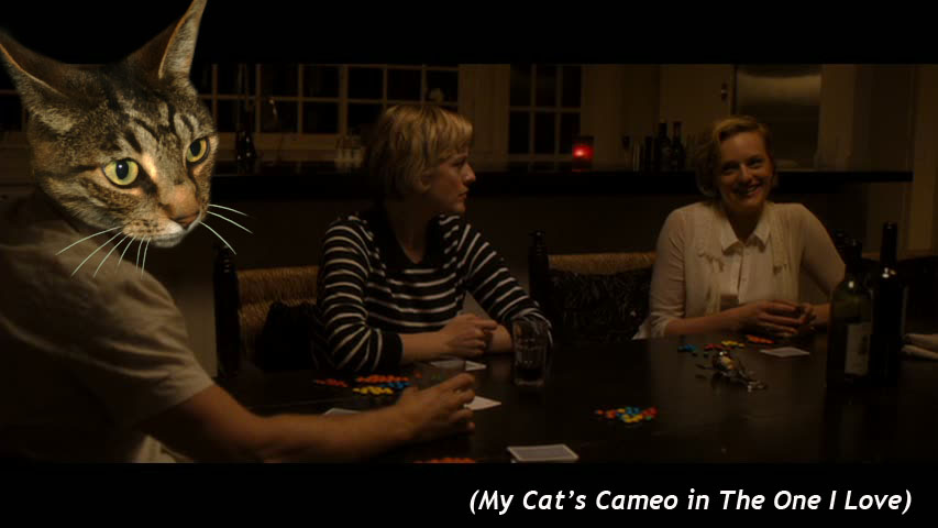 My Cat's Cameo in  The one I love