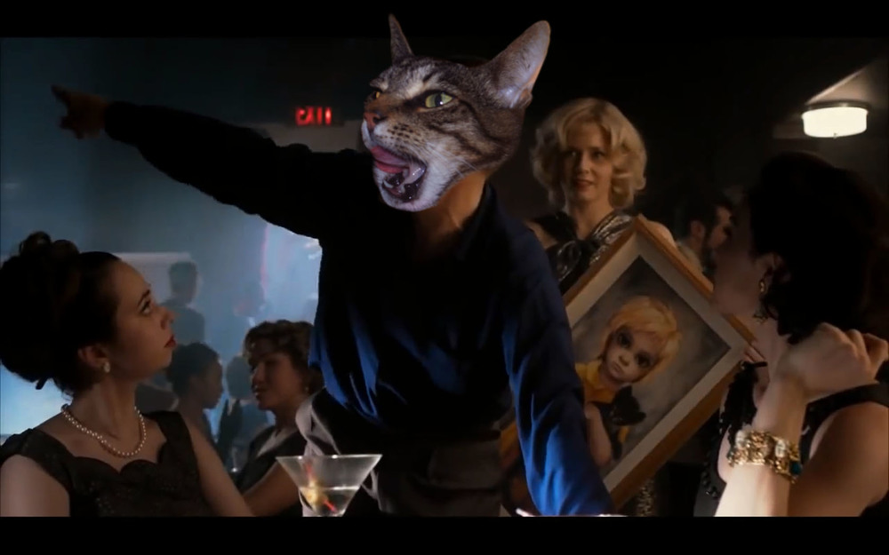 My Cat's CAmeo in  Big Eyes