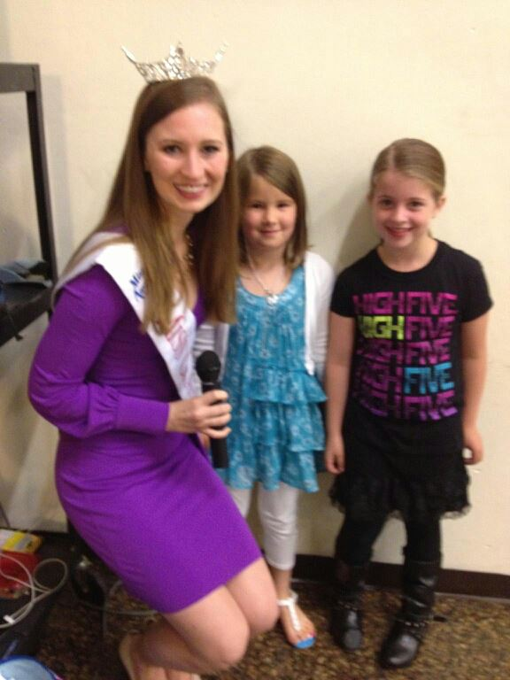 Lauren Kuhn Visiting an Elementary School Miss Mass 2014 Miss Massachusetts 2014.jpeg