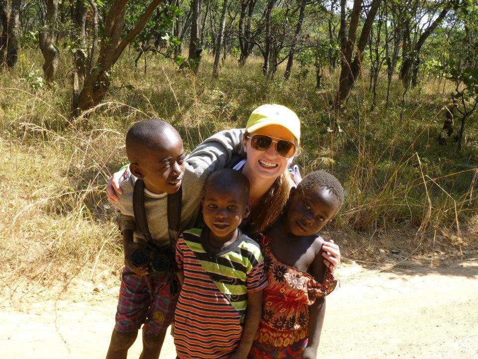 Lauren Kuhn in Zambia