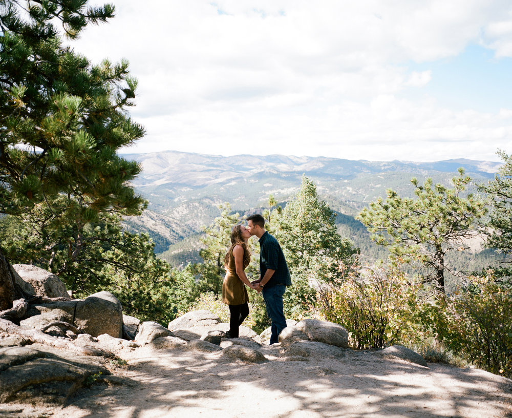 Gavin & Sarah - Flagstaff Mountain, CO