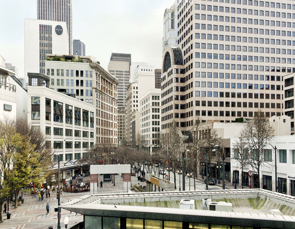 Downtown Seattle:  Westlake