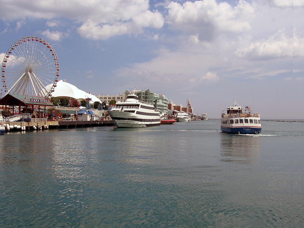 View of Navy Pier - Chicago, IL