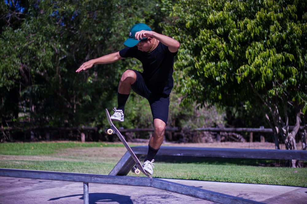 Earth Photong by Jaidyn York,   Jingili Skatepark 2016