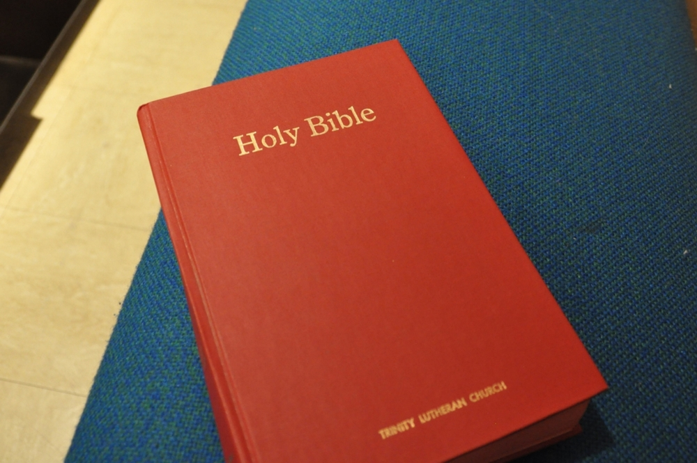Bible on Pew