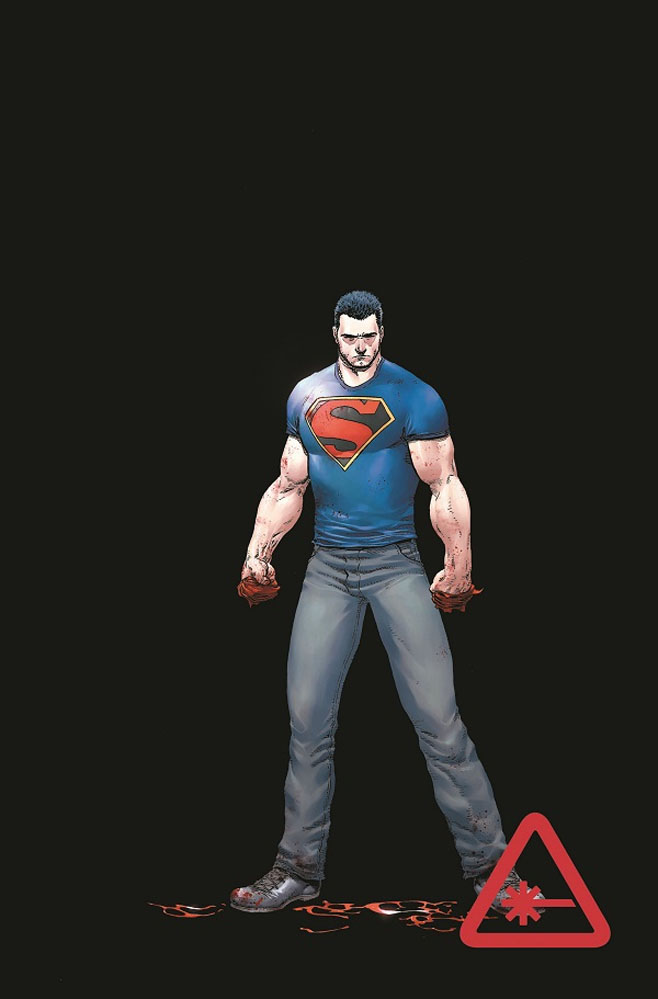 """I think Clark is going through his """"just saw fight club for the first time"""" phase"""