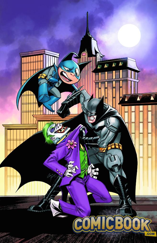 Bat-Mite is the Great Gazoo to Batman's Fred Flintsone