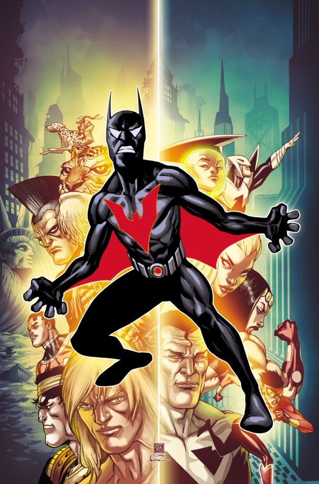 Batman Beyond is finally canon, but I have some bad news for all you Terry fans...