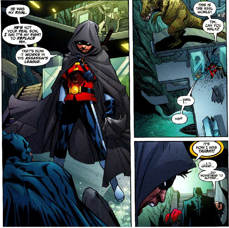 I can understand why Tim fans don't like Damian. I just can't understand being a Tim fan. Boosh!