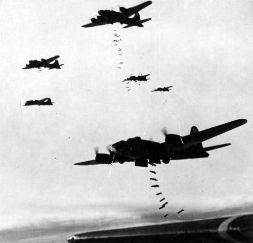 bombardement aérien