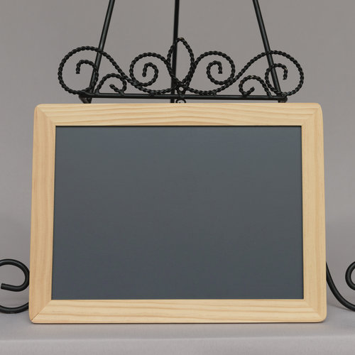 Chalkboard with wooden frame — Power of Love