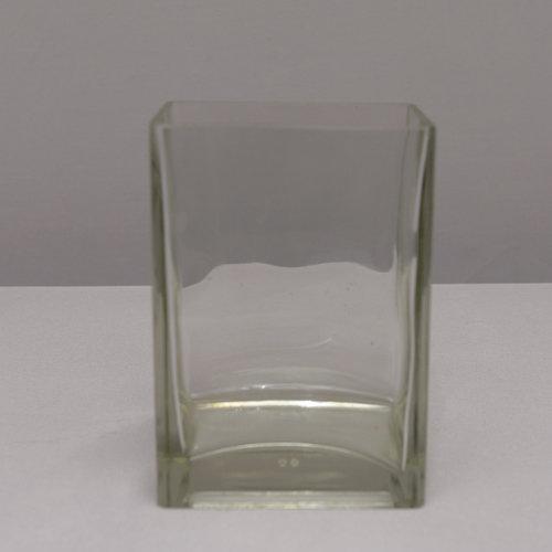 Rectangle Glass Vase 45 X 3 X 2 Power Of Love