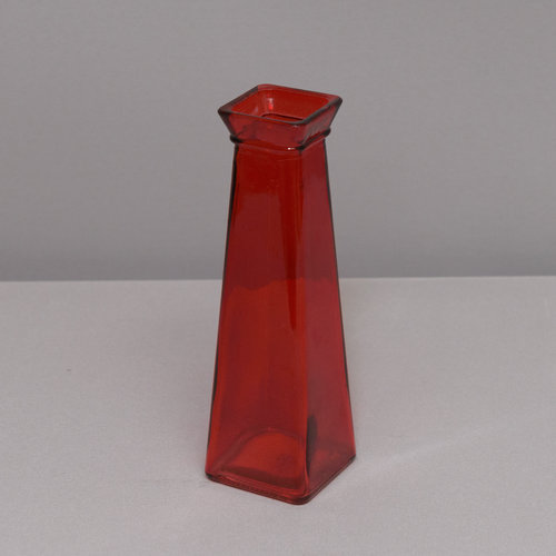 Red Square Bud Vase Power Of Love
