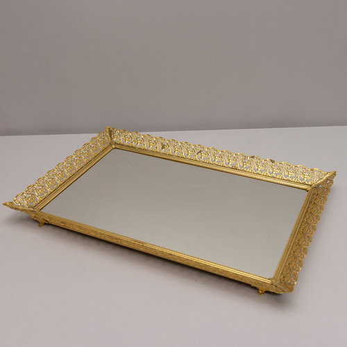 Mirror Tray - Gold Frame — Power of Love