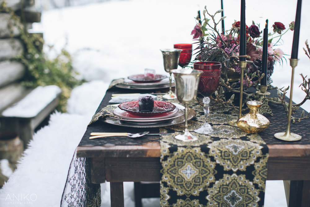 Fire and Ice Styled Shoot