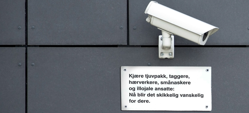 Videoovervåkning er like mye et effektiv forebyggende tiltak som om å være en sikkerhet