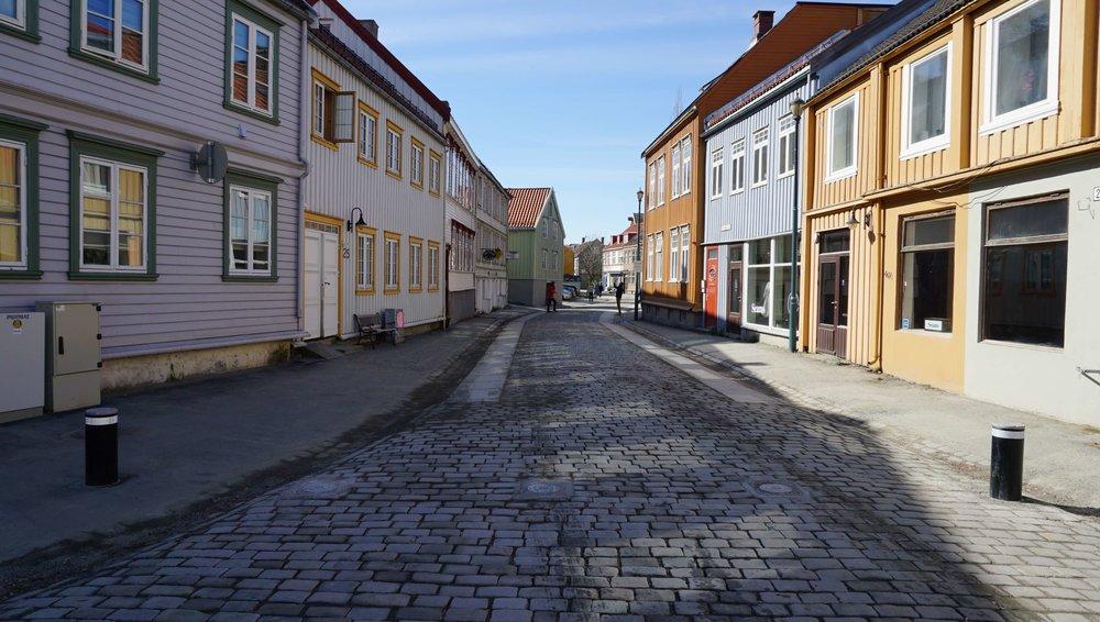 Foraas Områdesikring pullerter og kjøretøyssperrer på Bakklandet