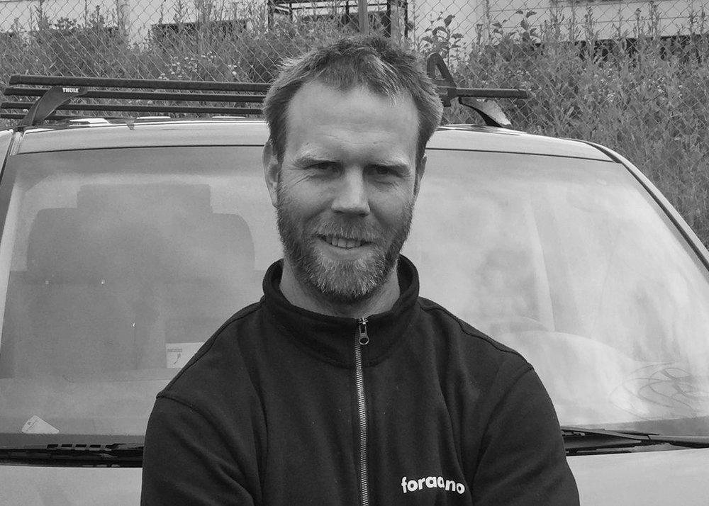 Montasjeleder - Rune Sliper | Tlf. 916 34 396 | rsl@foraas.noRune har vært hos oss i 3 år. Har til daglig ansvar for fremdrift i montasjeavdelingen.