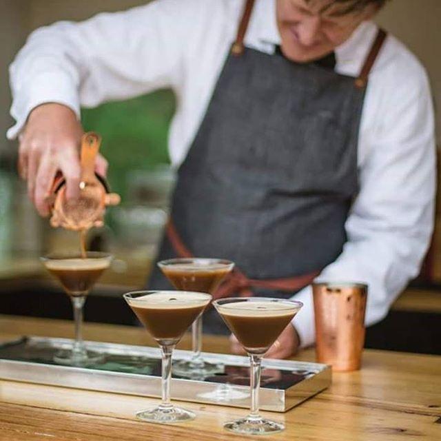 On Fridays we prefer our Espresso in a Martini 💕 . . . . . . . #fridayquotes #friyay #espressomartini #cocktails #friday #alcohol #mobilebar #caravanbar #victorianmobilebarservices #ballarat #daylesford #creswick #visitballarat #eventservices