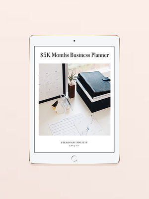 <p><strong>$5K Months Business Planner</strong>$75<a href=5k-planner>More →</a></p>