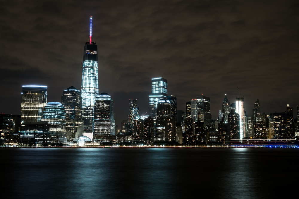 Manhattan skyline from Hoboken, July 2015
