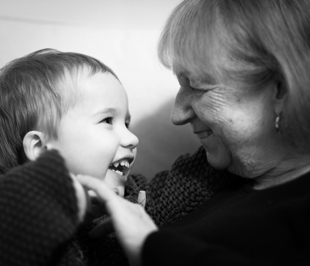 An Arthur family moment, Christmas 2014