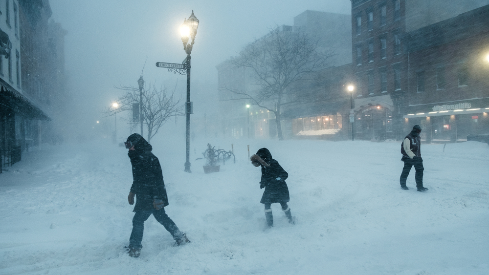Storm Jonas, Hoboken NJ, January 2016