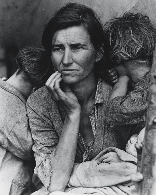 Migrant Mother, by Dorothea Lange