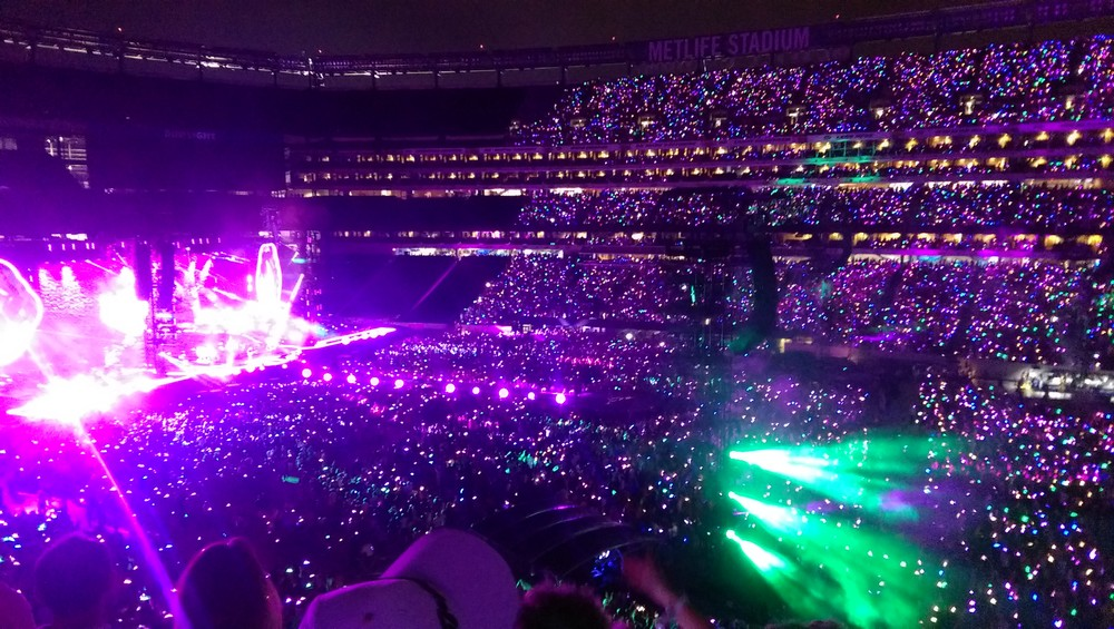 Coldplay, Metlife Stadium, New Jersey. July 2016.