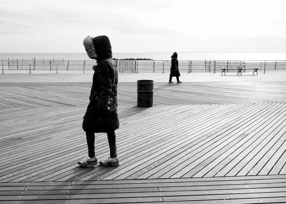 Coney Island, Brooklyn, New York. January 2016.