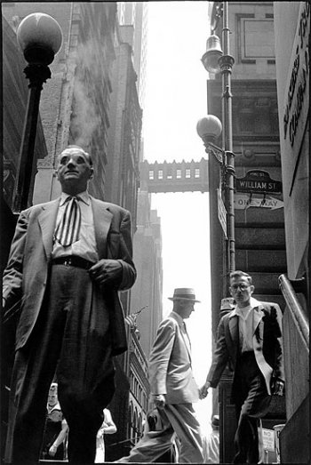 USA. 1950's New York. By Leonard Freed (Magnum Photos).