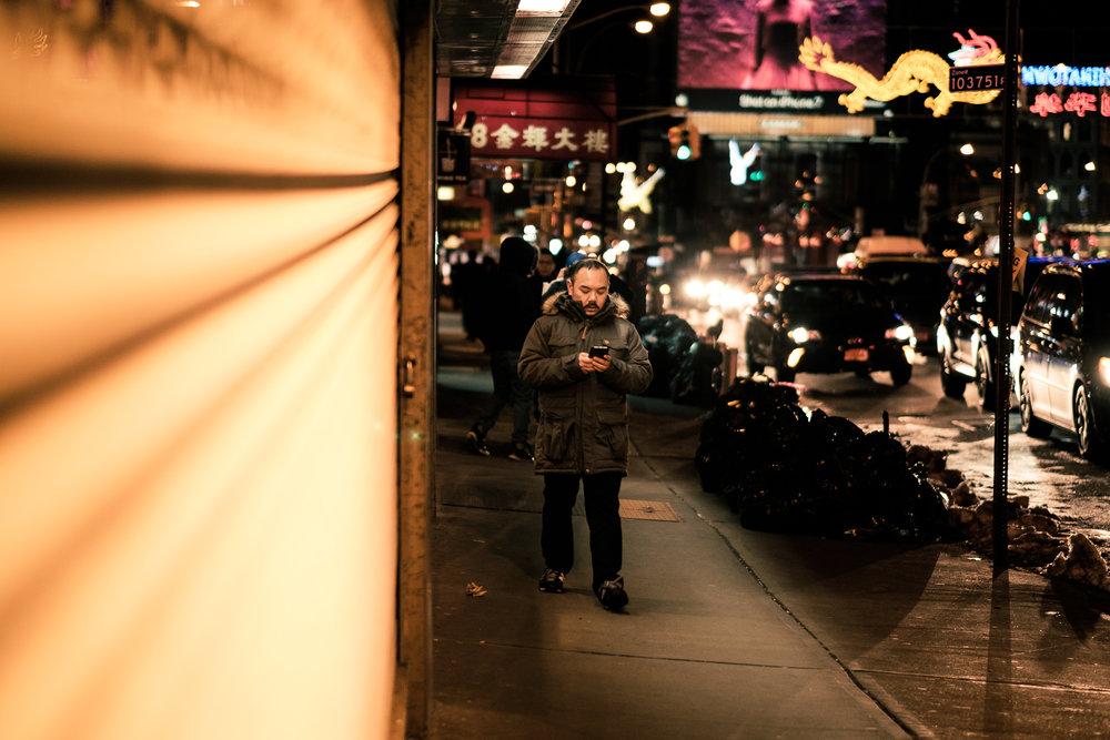 Chinatown, Manhattan, New York. February 2017.