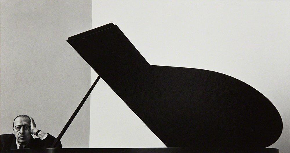 Arnold Newman, Igor Stravinsky