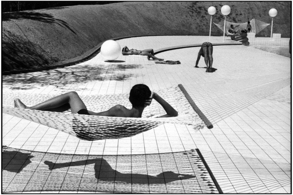 Martine Franck, Le Brusc (France), 1976