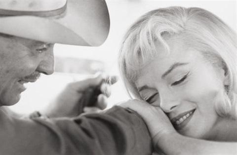 Cornell Capa, Clark Gable & Marilyn Monroe, Nevada 1960